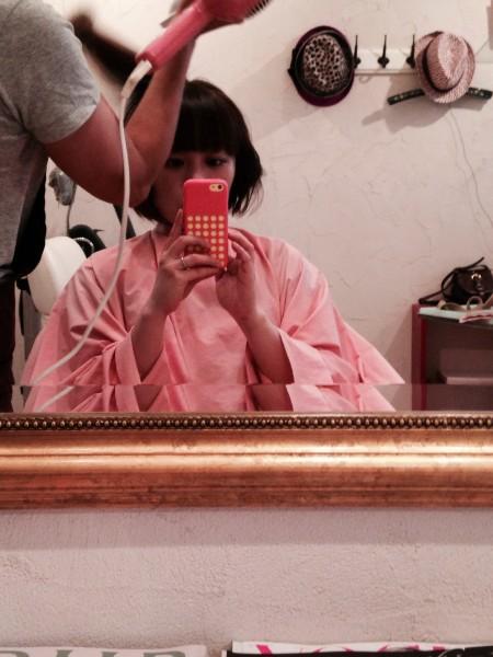 フリーアナウンサー シンガー ヒロキユミコ オフィシャルサイト mint hair 前髪