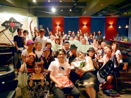 フリーアナウンサー シンガー 廣木弓子 オフィシャルサイト 山口リサ ファンミーティング8