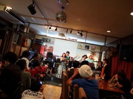 フリーアナウンサー シンガー ひろきゆみこ K-MIX にゃんDEMOナイト 2014年7月