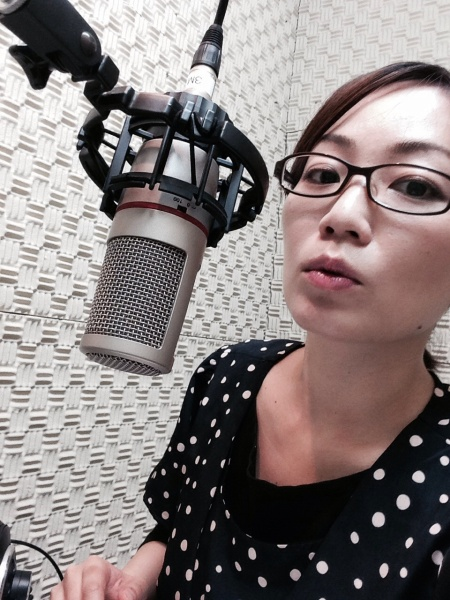フリーアナウンサー シンガー 廣木弓子 オフィシャルサイト K-MIX CM収録