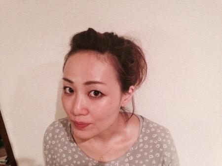 フリーアナウンサー シンガー 廣木弓子 オフィシャルサイト K-MIX へアアレンジ1