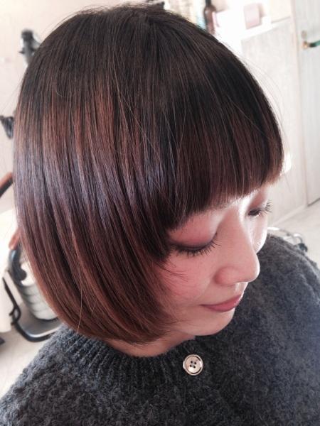 フリーアナウンサー シンガー 廣木弓子 オフィシャルサイト K-mix mint hair4