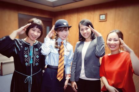 廣木弓子 フリーアナウンサー シンガー k-mix パーソナリティ オフィシャルサイト インタビュー 座談会 はままつし社協だより 168 1